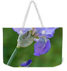 Iris Blue Weekender Tote Bag