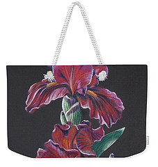 Iris Eyes Weekender Tote Bag