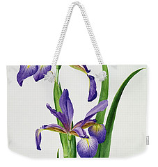 Iris Monspur Weekender Tote Bag by Anonymous