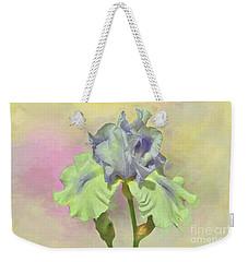 Iris Pastels Weekender Tote Bag