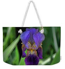 Iris Purple 2 Weekender Tote Bag