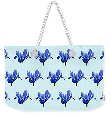 Weekender Tote Bag featuring the photograph Iris Recticulata-2 by Paul Gulliver