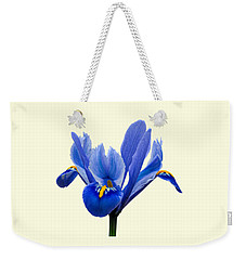 Iris Recticulata Transparent Background Weekender Tote Bag