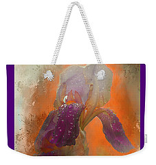 Iris Resubmit Weekender Tote Bag by Jeff Burgess