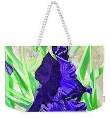Iris Royalty Weekender Tote Bag