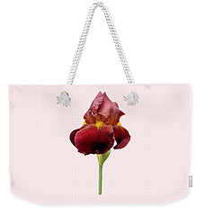 Iris Vitafire Transparent Background Weekender Tote Bag