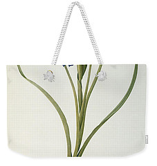 Iris Xyphioides Weekender Tote Bag by Pierre Joseph Redoute