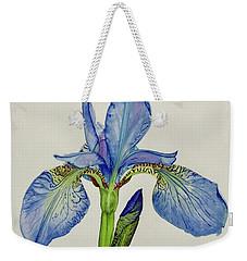 Iris You Were Here Weekender Tote Bag