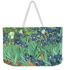 Irises Weekender Tote Bag by Vincent Van Gogh