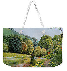Irish Afternoon Stroll Weekender Tote Bag
