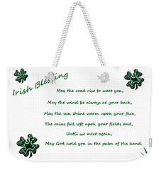Irish Blessing 2 Weekender Tote Bag