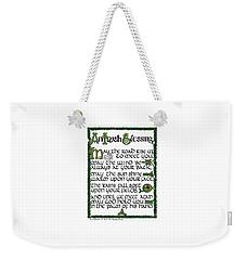 Irish Blessing Weekender Tote Bag