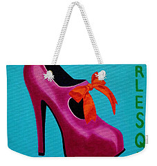 Irish Burlesque Shoe    Weekender Tote Bag by John  Nolan