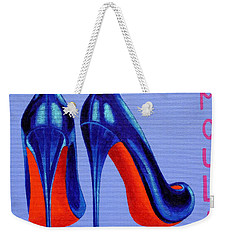 Irish Burlesque Shoes Weekender Tote Bag by John  Nolan