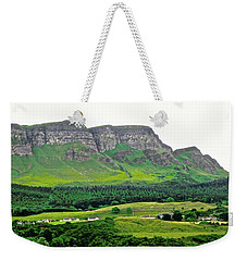 Irish Cliffs Weekender Tote Bag