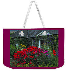 Irish Cottage Weekender Tote Bag