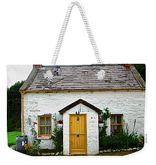 Irish Cottage With A Yellow Door Weekender Tote Bag