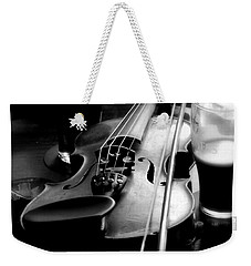 Irish Fiddle On A Break Weekender Tote Bag