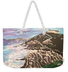 Irish Lighthouse Weekender Tote Bag