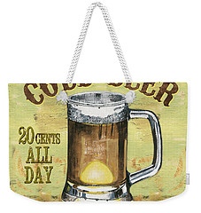 Irish Pub Weekender Tote Bag by Debbie DeWitt