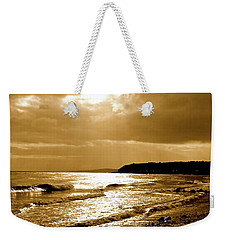 Irish Sea Weekender Tote Bag