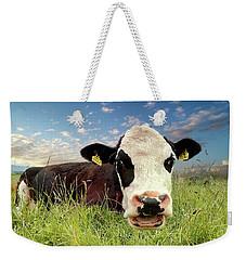 Irish Talking Cow Weekender Tote Bag