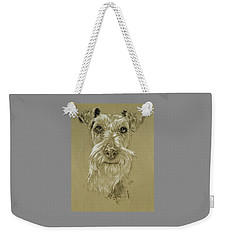 Irish Terrier Weekender Tote Bag