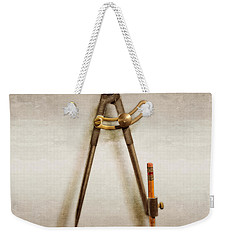 Iron Compass Weekender Tote Bag