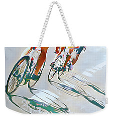 Iron Man Triathlon Weekender Tote Bag