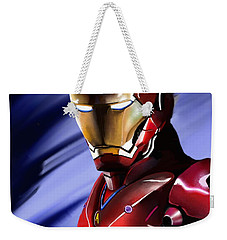 Iron Man's Glance. Weekender Tote Bag