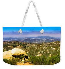 Iron Mountain View Weekender Tote Bag