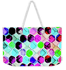 Irregular Hexagon Weekender Tote Bag by Uma Gokhale