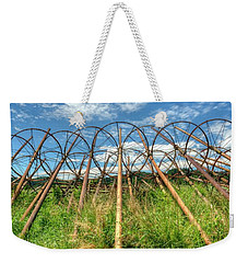 Irrigation Pipes 1 Weekender Tote Bag
