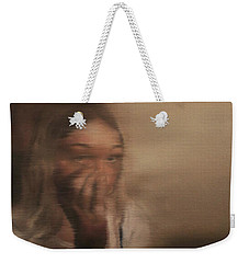 Is Everyone Looking? Weekender Tote Bag by Cherise Foster