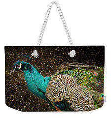 Weekender Tote Bag featuring the photograph Is She Looking ? by Jean Noren