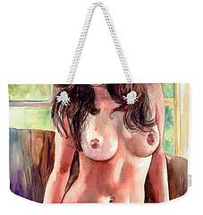 Isabella Nude Lady Portrait Weekender Tote Bag