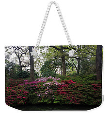 Weekender Tote Bag featuring the photograph Isabella Plantation by Hanza Turgul