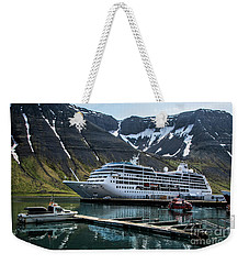 Isafjordur, Iceland Weekender Tote Bag by Shirley Mangini