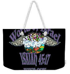 Isaiah 45 Verse 17 Weekender Tote Bag