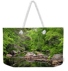 Isinglass River, Barrington, Nh Weekender Tote Bag