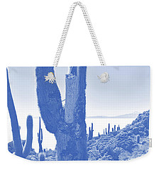 Isla Incahuasi, Salar De Uyuni, Bolivia No. 148-1 Weekender Tote Bag