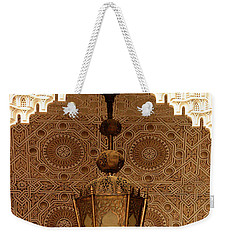 Islamic Plasterwork Weekender Tote Bag by Ralph A  Ledergerber-Photography