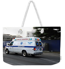 Island Ambulance Weekender Tote Bag