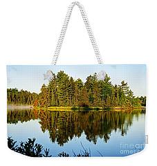 Island At Dawn Weekender Tote Bag
