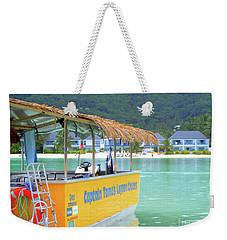 Island Cruise Weekender Tote Bag