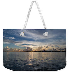 Island Horizon Weekender Tote Bag by Christopher L Thomley
