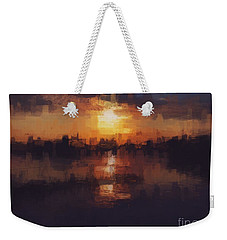 Island In The City Weekender Tote Bag