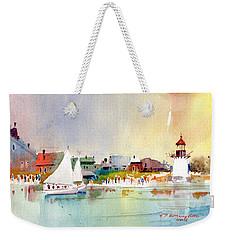 Island Light Weekender Tote Bag
