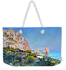 Island Of Capri - Gulf Of Naples Weekender Tote Bag