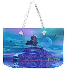 Island Of Lost Souls Weekender Tote Bag by Mark Blauhoefer